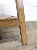 Antique Pine Tripod Side Table (m-2269) (7 of 8)