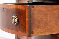 Mahogany Sheraton Revival Serpentine Sideboard (4 of 7)