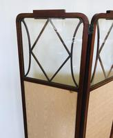 Edwardian Inlaid Mahogany Screen (12 of 13)
