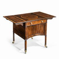 George III Chippendale-style Satinwood Pembroke Table (8 of 14)