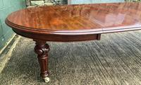 Super Quality Victorian Mahogany Extending Dining Table Seats 14 (4 of 18)
