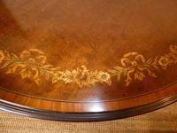 Edwardian Inlaid Round Side Table (6 of 7)