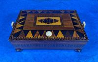 Georgian Kingwood & Tunbridge Ware Table Box (10 of 14)