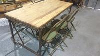 Fabulous Pine Trestle Kitchen Table (11 of 11)