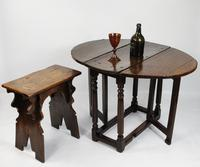 A Small 17th Century Gateleg Table.