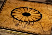 Beautiful Georgian Figured Walnut Jewellery Box 1800 (9 of 13)
