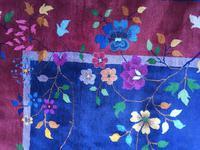 Antique Chinese Art Deco Carpet (12 of 14)