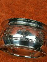 Antique Sterling Silver Hallmarked Napkin Ring 1901 John Rose (5 of 10)