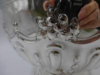 Antique Victorian Silver Rose Bowl. London 1898 (3 of 8)