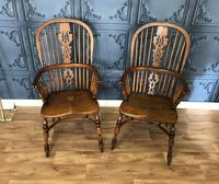 Pair of Windsor Chairs (2 of 14)