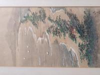 Three Japanese original ink/ watercolour lanscape paintings circa mid. 20th Century (10 of 20)