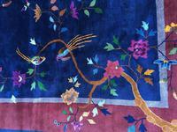 Antique Chinese Art Deco Carpet (8 of 14)