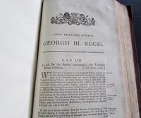 1798  94 Government Acts Passed in the 38 Year of the Reign of King George the Third (4 of 8)