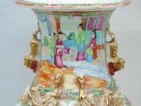 Good Large 19th Century Chinese Famille Rose Vase (6 of 12)