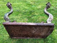 French 18th Century Georgian Grand Tour Garden Cast Iron Plinth Table Claw Feet (28 of 33)
