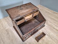 17th Century Oak Deed Box (2 of 4)