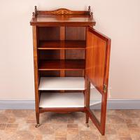 Inlaid Rosewood Music Display Cabinet (3 of 15)