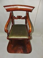 Regency Mahogany Child's Chair on Stand (3 of 7)
