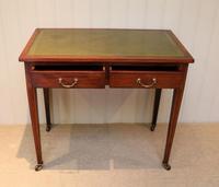 Edwardian Mahogany Writing Desk (3 of 6)