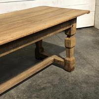 Rustic French Oak Farmhouse Dining Table (18 of 26)