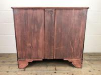Edwardian Crossbanded Mahogany Chest of Drawers (9 of 9)