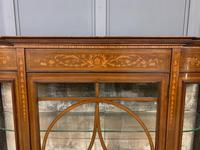 Maple & Co Inlaid Mahogany Display Cabinet (6 of 13)