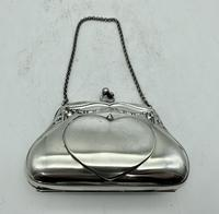 Silver Plated Evening Purse c.1913 (4 of 7)