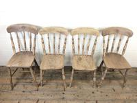 Set of Four Antique Kitchen Chairs (3 of 11)