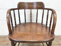 Antique Smoker's Bow Chair (3 of 9)