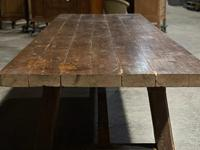 Huge Rustic French Oak Farmhouse Dining Table (4 of 35)