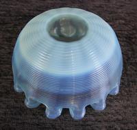 Antique Vaseline Stevens Williams Glass Finger Bowl (5 of 5)