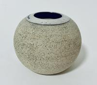 Antique Ceramic Match Strike Holder with Silver Rim (4 of 11)
