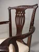 Early 20th Century Neoclassical Mahogany Elbow Chair (4 of 5)