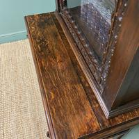 Victorian Carved Oak Antique Bookcase (4 of 9)