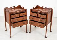 Pair of  Mahogany Queen Anne Style Bedside Cabinets (2 of 12)