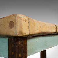 Antique Butcher's Chopping Block, Beech, Teak, Work Bench, Kitchen Island, Table (2 of 11)