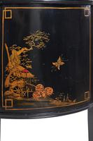 Chinoiserie Demi Lune 2 Door Side Cabinet c.1920 (6 of 9)