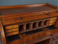 Victorian Oak Cylinder Top Desk or Bureau (11 of 16)
