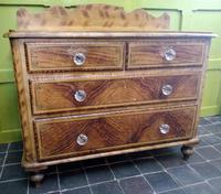 Victorian Faux Bois Chest of Drawers