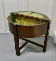 Oak Half Moon Sewing Box (7 of 7)