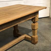 Rustic French Oak Farmhouse Dining Table (11 of 26)