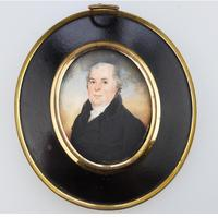 Attributed / After Frederick Buck - Irish Interest - Good Portrait Miniature Painting Early 19th Century