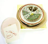 Vintage Kigu Theatrical Mask Compact Mirror 1950s (7 of 8)