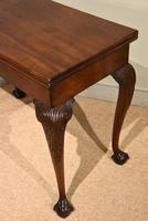 George III Mahogany Foldover Tea Table (4 of 8)