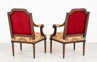 Pair of French Oak Open Armchairs (7 of 9)