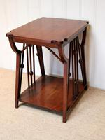 Small Arts & Crafts Walnut Table (7 of 8)