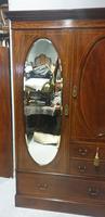 Excellent Quality Inlaid Compactum Wardrobe (4 of 11)