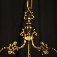French Gilded Bronze Antique Hall Lantern (7 of 10)