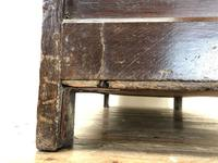 18th Century Oak Coffer with Inlay (11 of 13)
