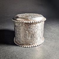 Dutch Silver Tea Caddy (2 of 7)